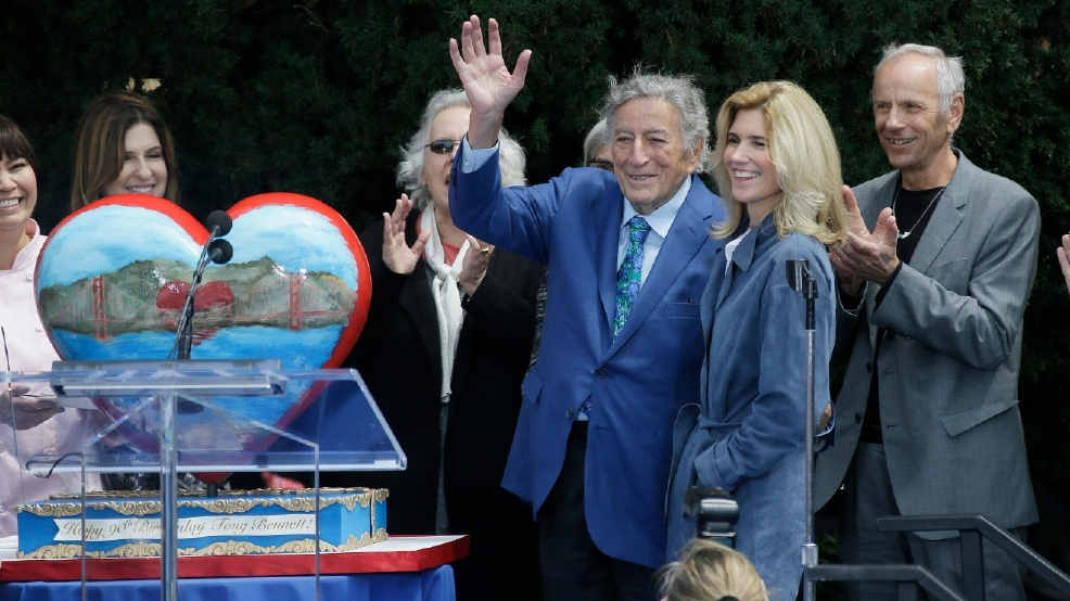 'He's San Francisco': Tony Bennett honored for 90th birthday