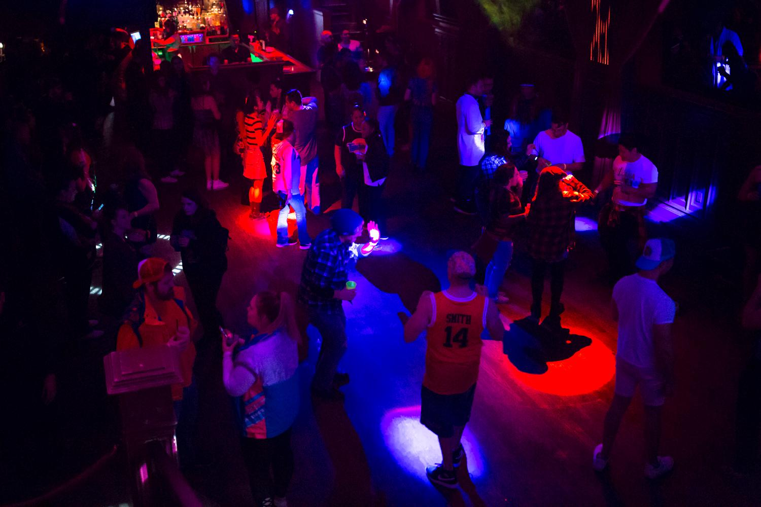 It's the 90s ya'll!!! Hundreds of party goers dressed in their favorite 90s fashion and danced their Saturday away to their favorite jams. (Sy Bean / Seattle Refined)
