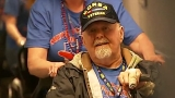 Honor Flight from Oregon arrives in D.C. to a hero's welcome