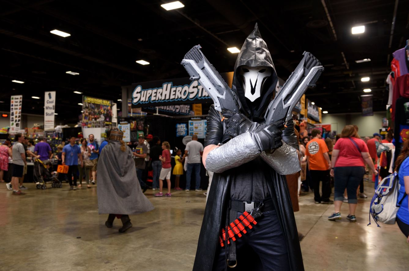 From villains to heroes, Star Wars characters to mad scientists, we saw it all this weekend at Awesome Con 2017. Here's a behind the scenes peek at the third and final day of our time geeking out at the Convention Center. (Image: Franz Mahr)
