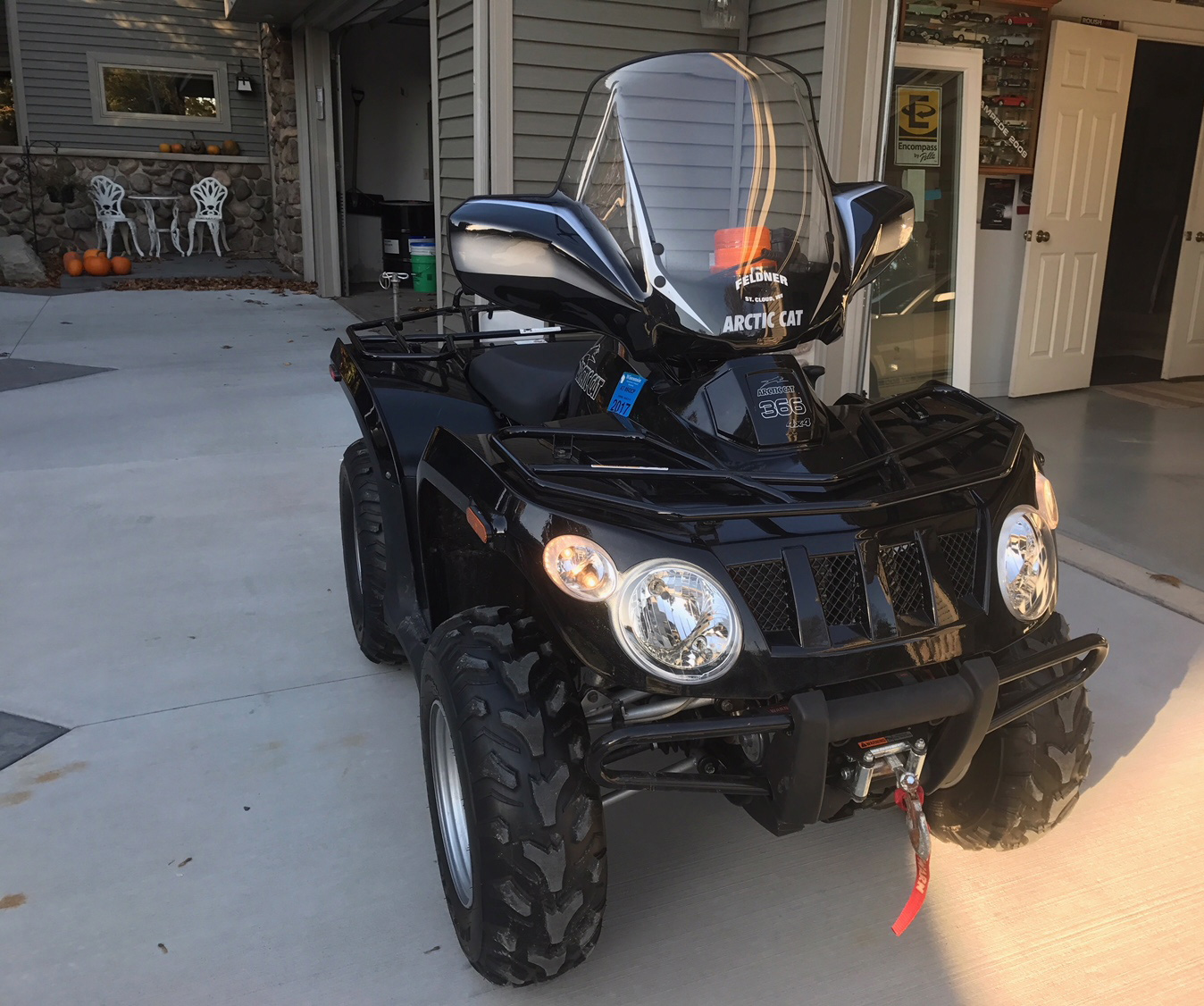 This ATV was stolen from a garage and shed in Harrison the weekend of Dec. 9-10, 2017. (Photo courtesy Calumet Co. Sheriff's Dept.)