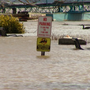 High water leads to longer commute times