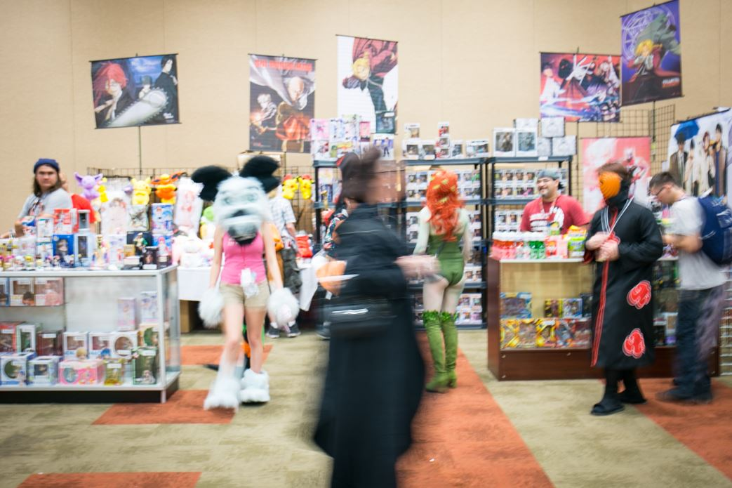 Many anime enthusiasts gathered in downtown Boise at the Boise Centre for the 17th Annual Anime Oasis Friday. The event is four full days of anime, cosplay, contests, games and dances and continues through Monday May 28 (Kristen McPeek Photo)<br>