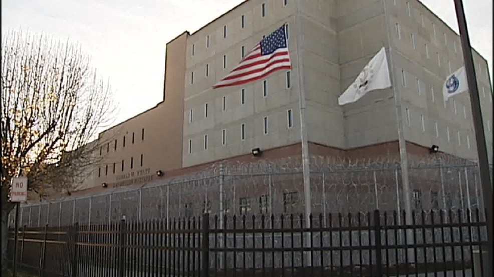 "A detainee at the Donald W. Wyatt Detention Facility in Central Falls ""was found unresponsive in his cell by a corrections officer,"" authorities said Monday, March 20, 2017. (WJAR)"