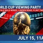 Join us for the excitement of the World Cup Final