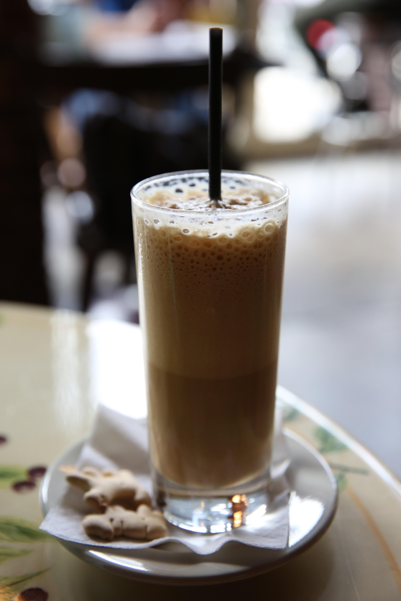 Treat yo'self to something sweet, like the hazelnut shakerato. (Amanda Andrade-Rhoades/DC Refined)