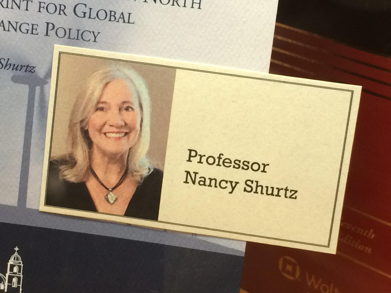 Several law students identified that professor as Nancy Shurtz. On Thursday afternoon, law students held a closed-door forum inside the law school to discuss the allegations and how to move forward. Some students leaving the forum described a tense atmosphere. (SBG)