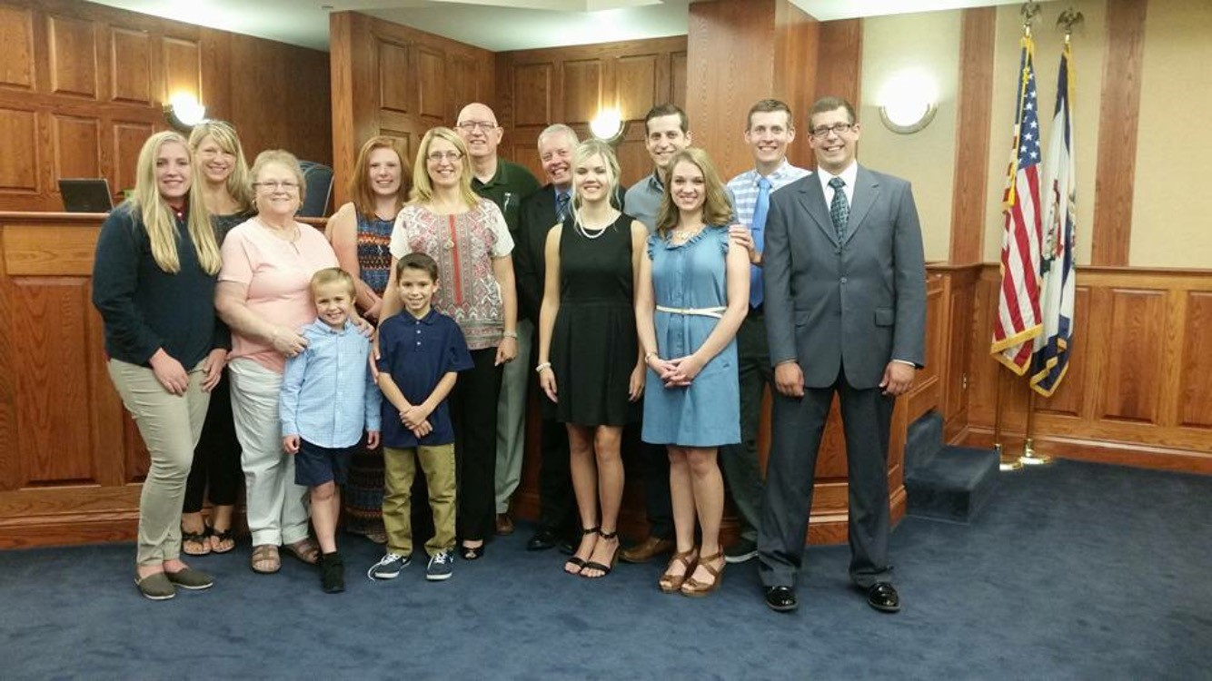 The Thompsons have three biological sons and now an adopted son and daughter. (WCHS/WVAH)