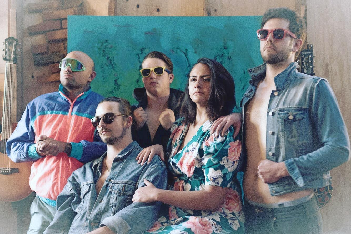 <em>BoobooLala is a local band from Tacoma, Washington comprised of sibling vocalists Kevin and Madisen Dailly, Byron Thomas on bass, Jordan Neal on guitar and Sig Wynkoop on drums. (Image courtesy of BoobooLala).</em>