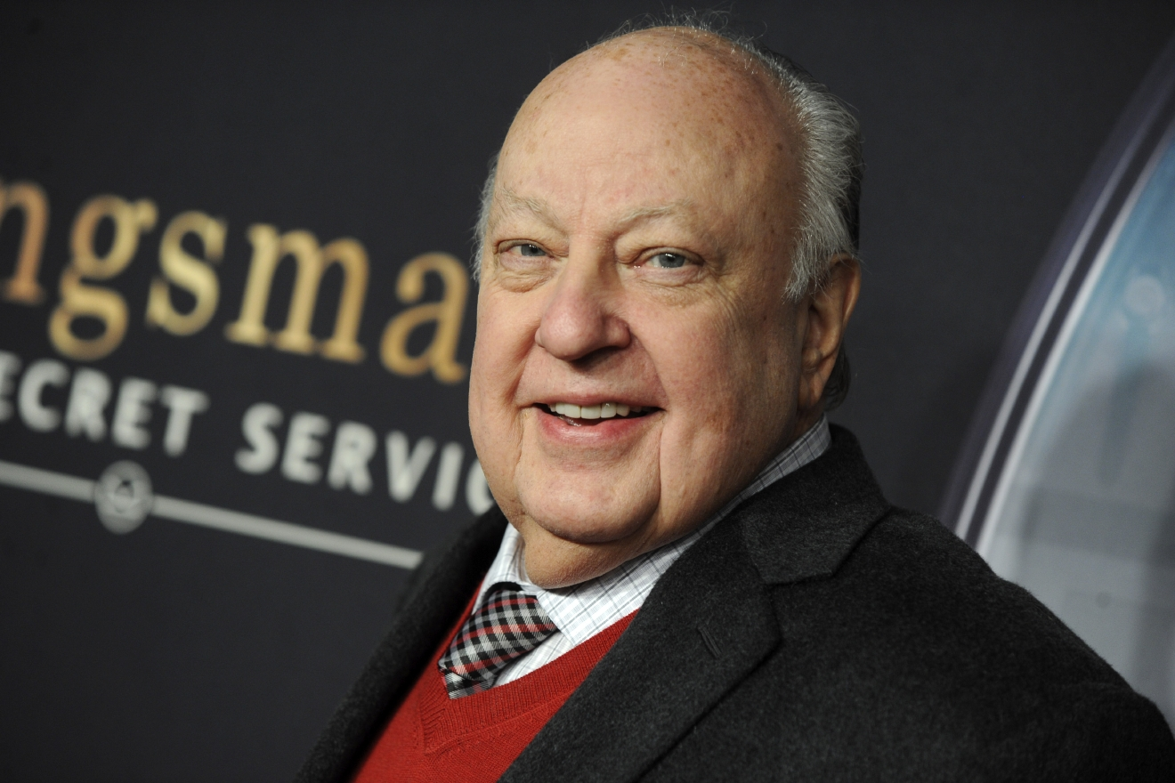 'Kingsman: The Secret Service' New York premiere at SVA Theater in New York City  Featuring: Roger Ailes Where: New York, New York, United States When: 09 Feb 2015 Credit: Dennis Van Tine/Future Image/WENN.com  **Not available for publication in Germany, Poland, Russia, Hungary, Slovenia, Czech Republic, Serbia, Croatia, Slovakia**