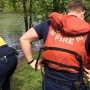 Rescue crews recover women from island after they fell in Willamette River