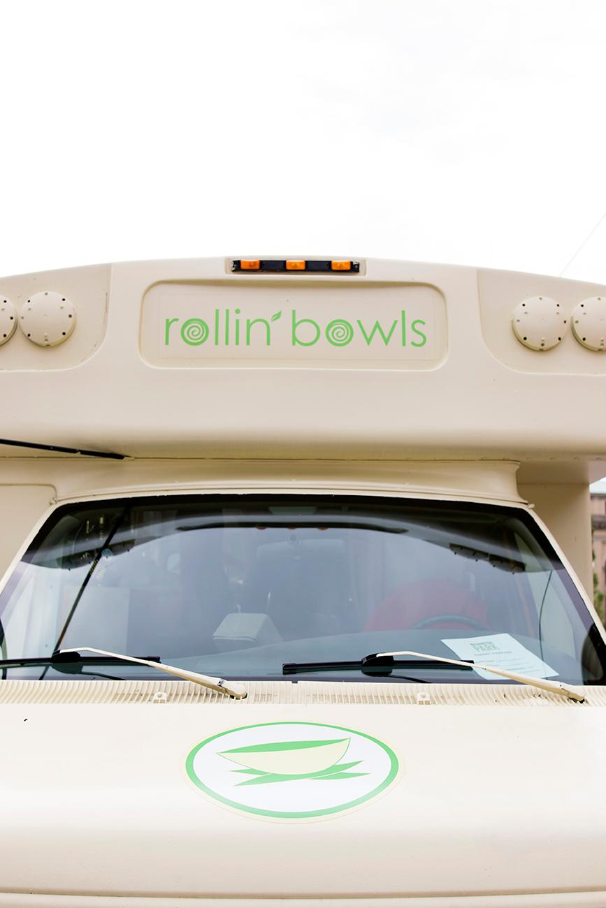 Monica's daughter, Erica, created the logo and design of the food truck. / Image: Allison McAdams // Published: 6.27.19
