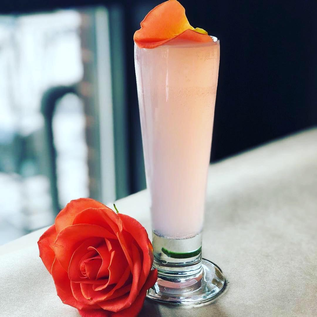 The Future is Female cocktail was created just for the march, and a percentage of the proceeds from each drink will be donated to Planned Parenthood. (Image: Courtesy Logan Tavern)