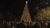 Large crowd turns out for annual tree lighting at Alter's Gem Jewelry in Beaumont