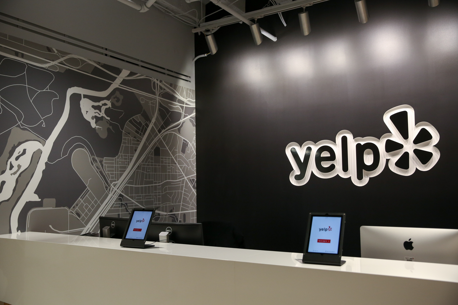 In August 2017, it was announced that Yelp would be opening a D.C. office (the sixth office nationwide, and the second East Coast location) and bringing 500 sales and marketing jobs to the District over the course of five years.{ }(Image: Amanda Andrade-Rhoades/ DC Refined)