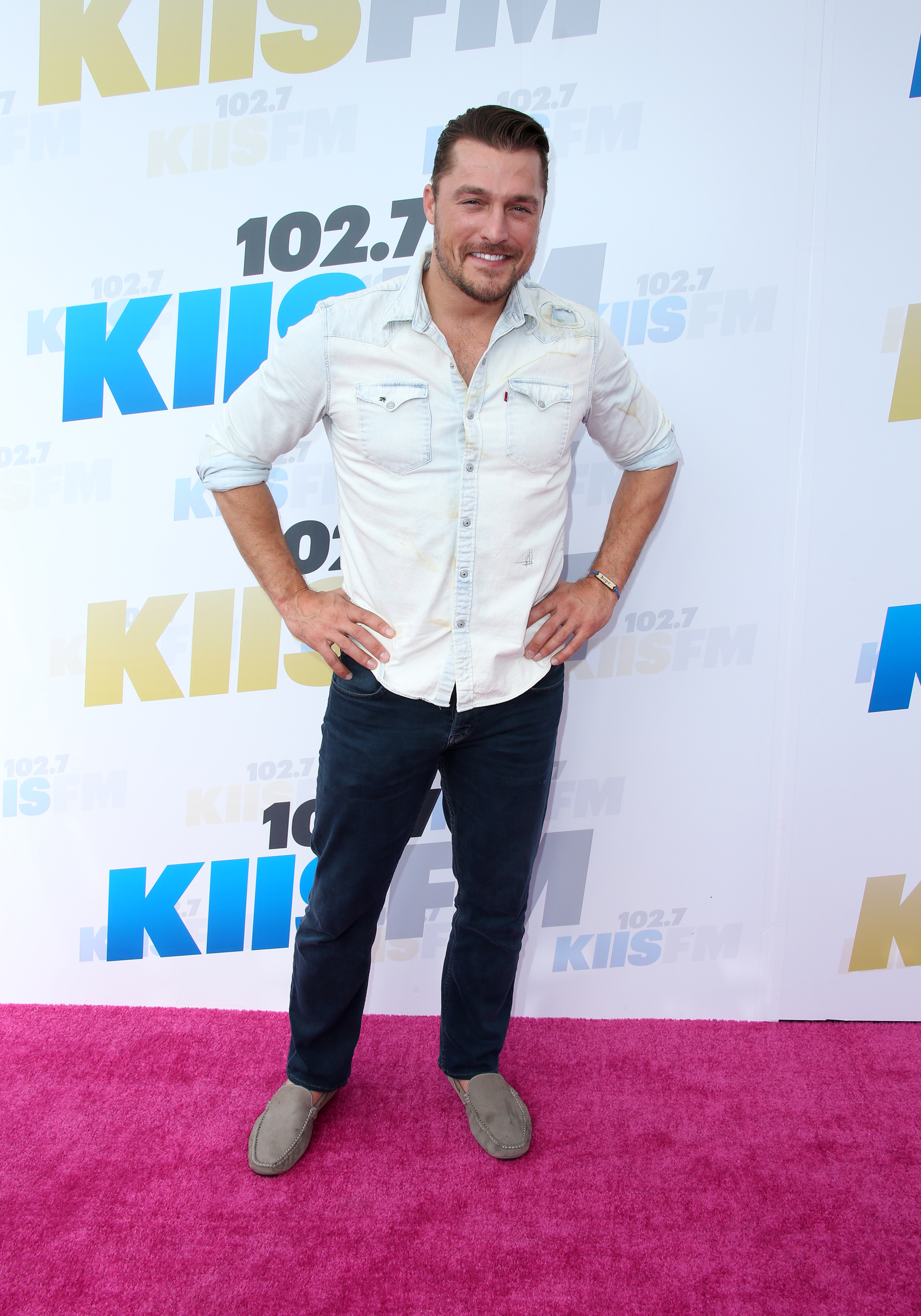 102.7 KIIS FM's Wango Tango 2016 - Arrivals                                                                      Featuring: Chris Soules                                   Where: Carson, California, United States                                   When: 14 May 2016                                   Credit: FayesVision/WENN.com