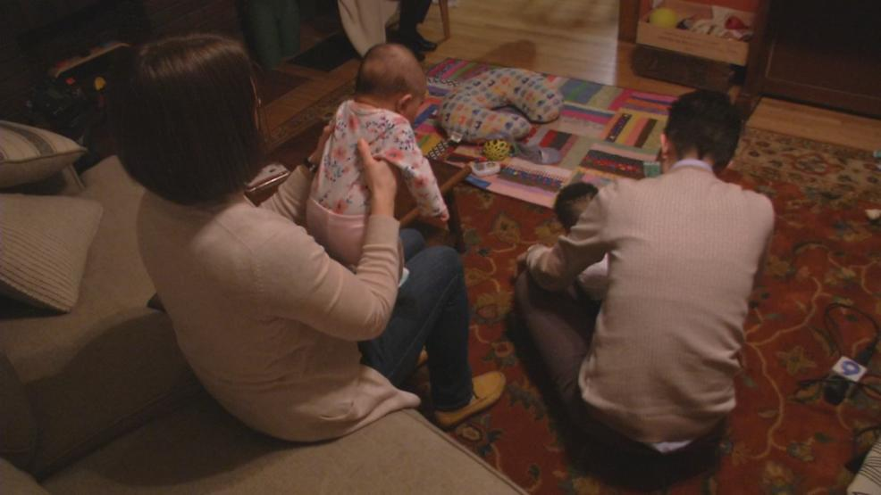 Tia and Tori Kolasa have stepped in to help with several heroin-addicted babies they've fostered. (WSYX/WTTE)