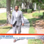 Broward bailiff walks to DC to raise awareness of a dark criminal element