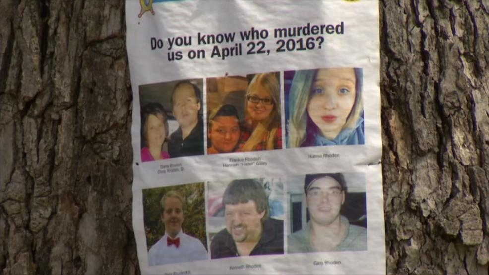 Murdered members of the Rhoden family.  (WSYX/WTTE)