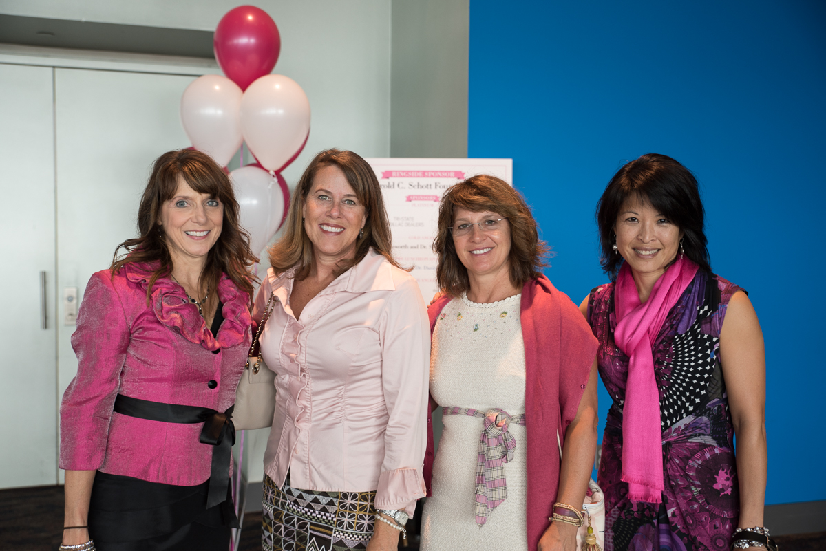Barbara Kurnick, Barb Siegel, Sondra Kurz, and Kathy Mak / Image: Sherry Lachelle Photography
