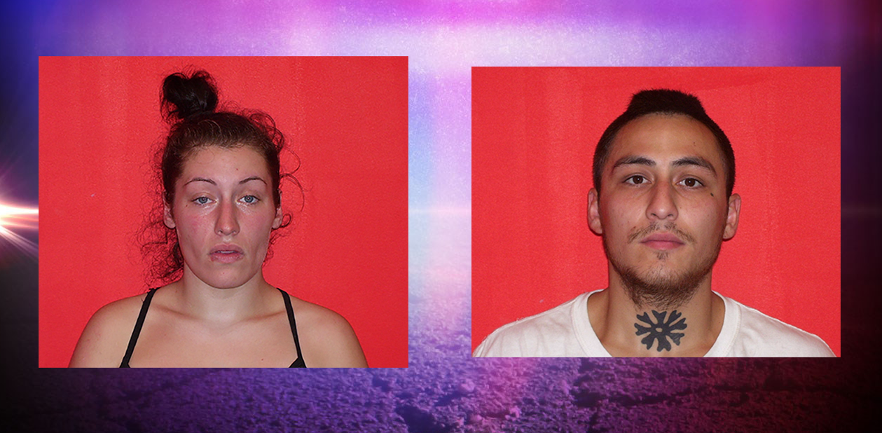 Holly Solans and Christopher Greene are charged with using counterfeit money (photo courtesy: Laconia Police Department)<p></p>