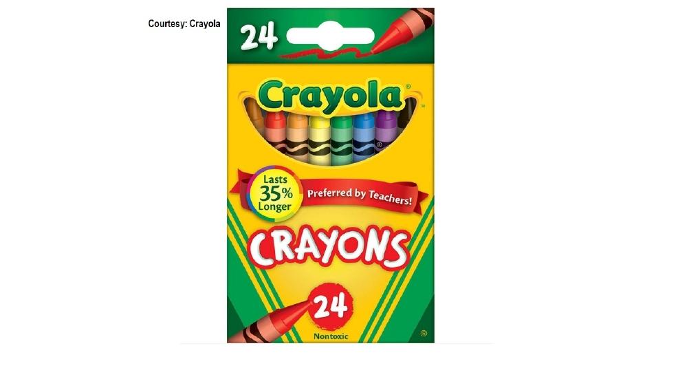 crayola evicting crayon from 24 count box kabb