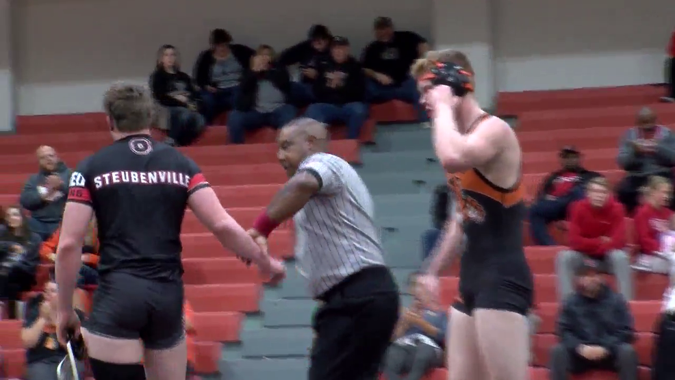 12.21.17 Highlights - Steubenville wins home wrestling opener vs New Lexington