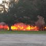 Warehouse near Conway destroyed by Saturday morning fire