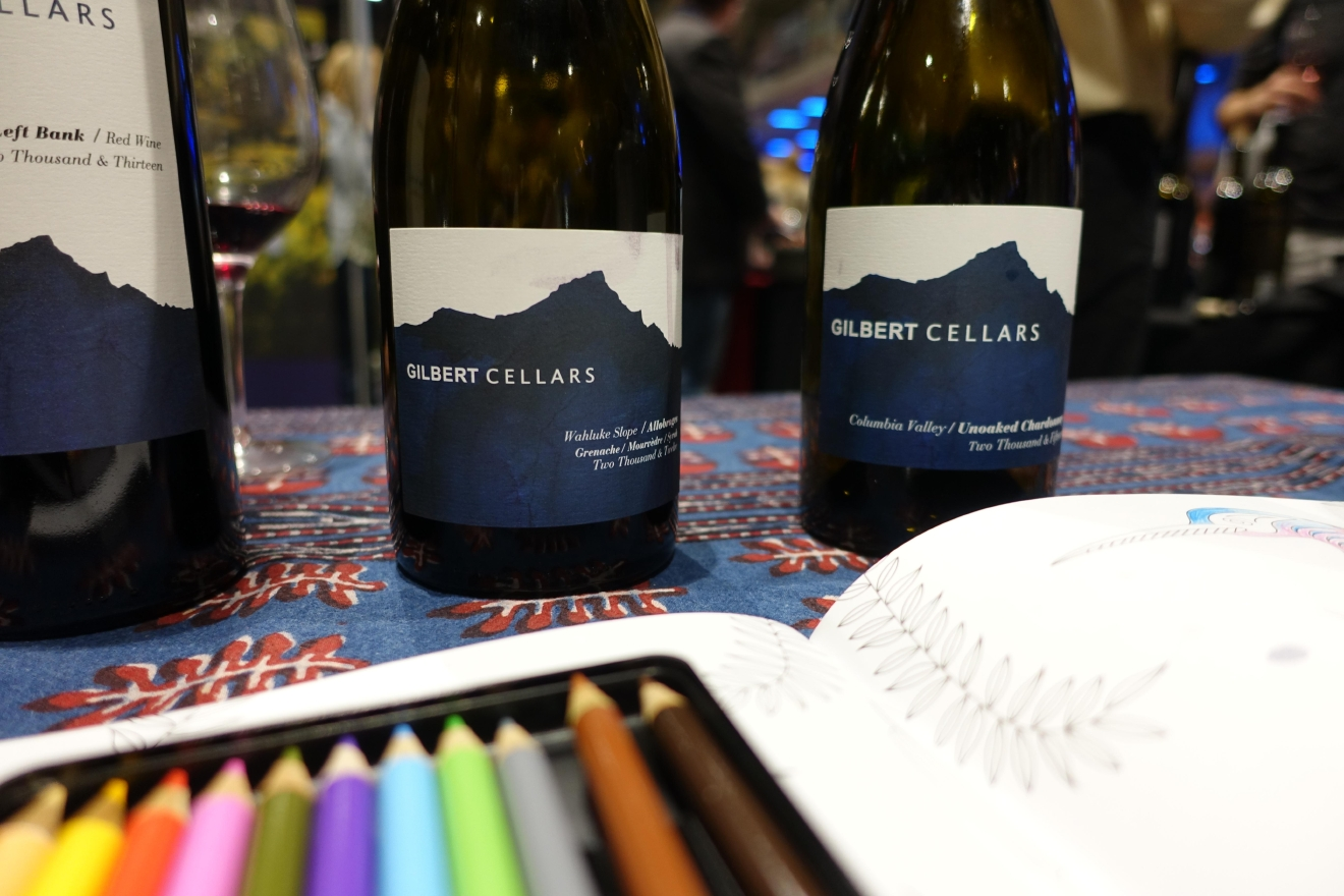 Amidst a sea of Chardonnays hit with too much oak for my taste, this unoaked Chardonnay from Gilbert Cellars was a revelation at Taste WA. (Image: Frank Guanco)