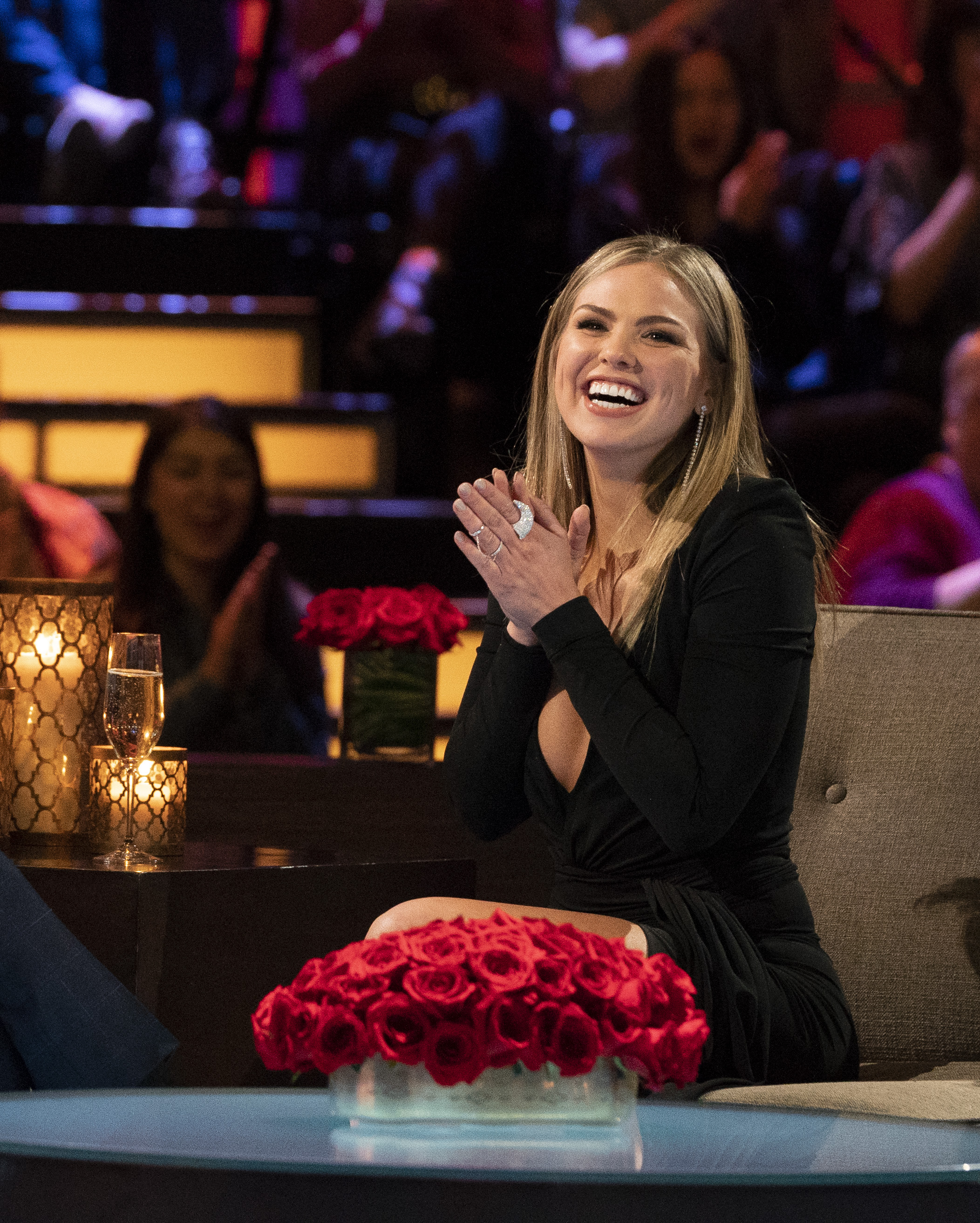 But now, Hannah Beast is about to the be the one breaking up the fights, rather than starting them, as she takes her seat on the throne as the star of Bachelorette Season 15! (Image: ABC/Eric McCandless)