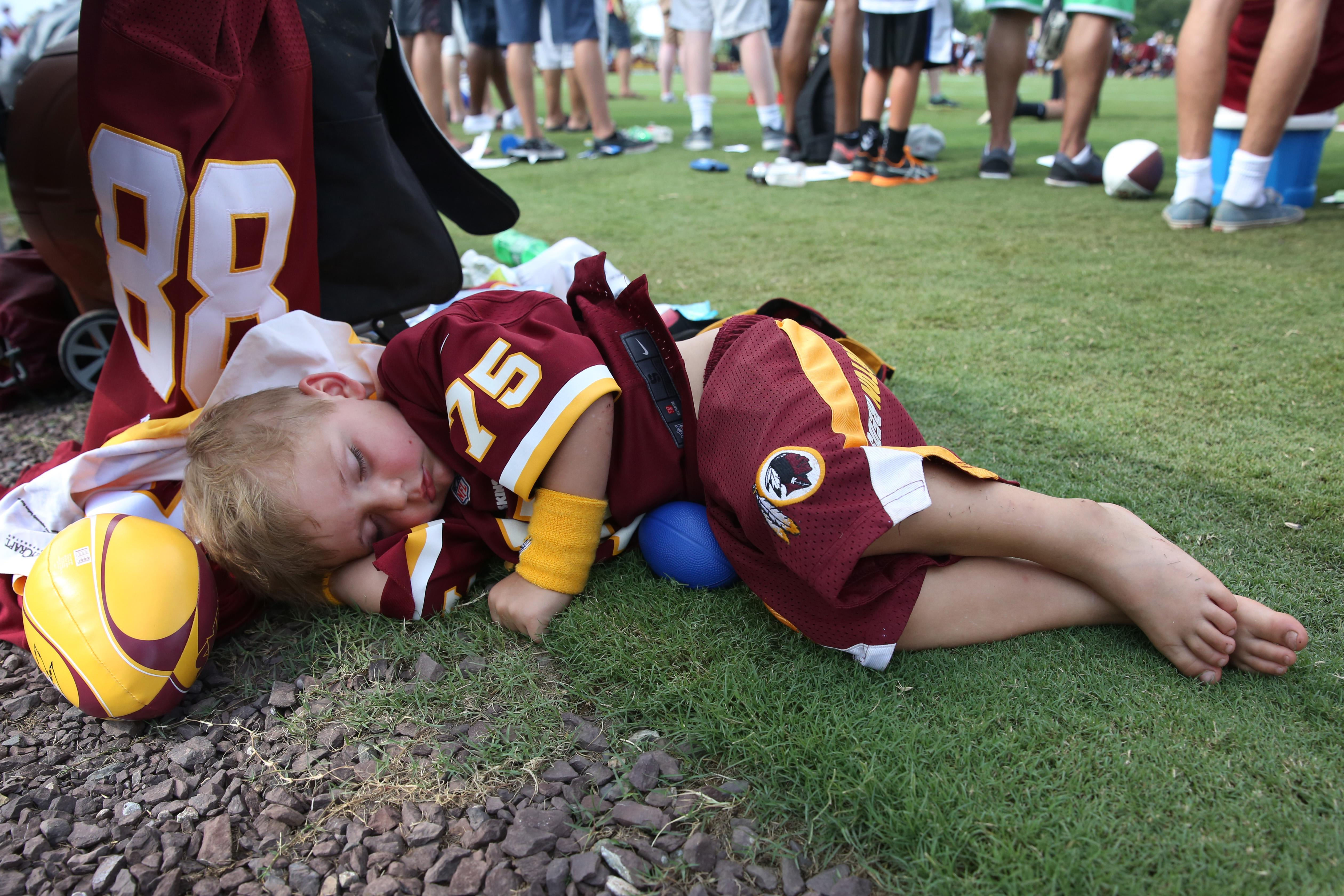 Redskins training camp, August 2016. (Amanda Andrade-Rhoades/DC Refined)