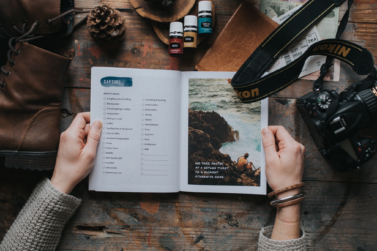 Wayword workbook is your ultimate travel companion and workbook. / Image: Brianna Long // Published: 4.10.17
