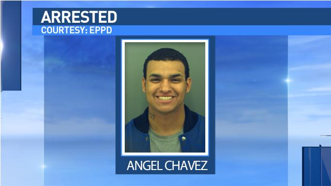 Angel Chavez is accused in a beer run. Photo courtesy of EPPD.
