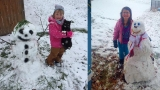 SLIDESHOW: First snow of 2016 winter