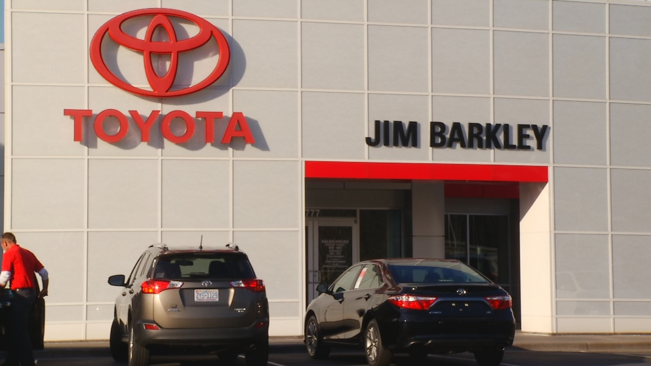 Jim barkley toyota is being sold to anderson automotive group and will become fred anderson toyota