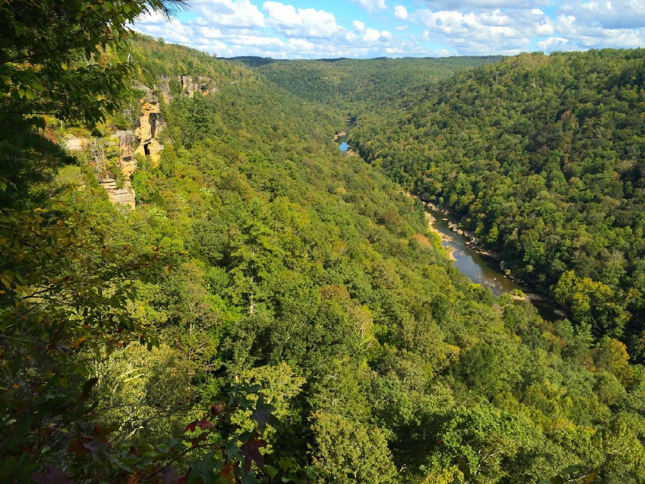 #8 - BIG SOUTH FORK, TENNESSEE (Distance from Downtown Cincy: approx. 4 hours) / Image: Jen Seiser