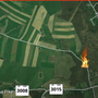 Man flown to hospital after being burned in Somerset County brush fire