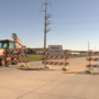 S. Lewis Blvd. closed for repairs