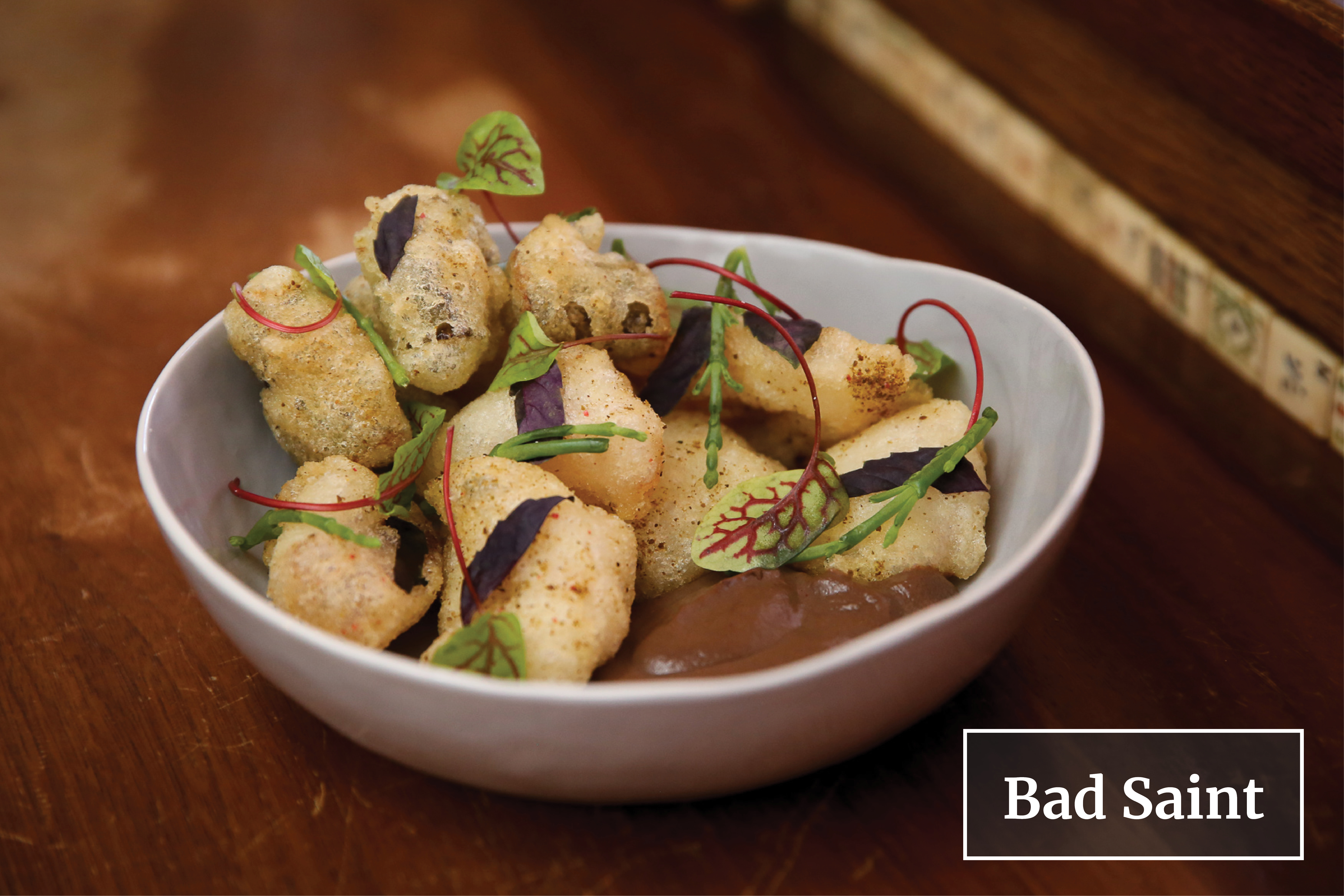 Tom Cunanan of Bad Saint is a finalist in the Best Chef: Mid-Atlantic category. Winners will be announced at the JBF Awards Gala on May 6. (Image: Amanda Andrade-Rhoades/ DC Refined)