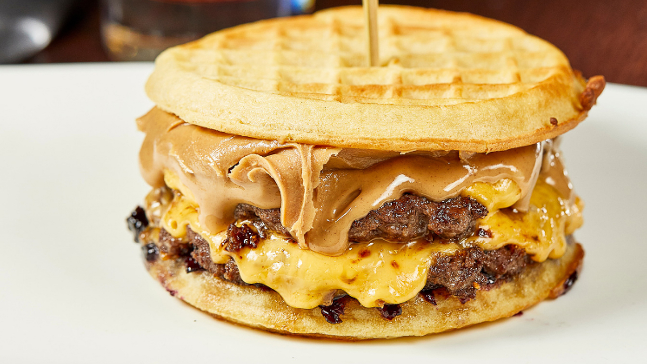 Okay, wait. Hear us out. The Stranger Things Burger at Burger Study sounds weird, but it's supposedly good. It's two beef patties smothered in American cheese, peanut butter (what?), local Indy blueberry jam (what, what?), and pressed between two waffles. If that's not the strangest thing we've ever heard, we don't know what is. It's available July 1 through 7. ADDRESS: 28 W Georgia St, Indianapolis, IN 46225 / Image courtesy of Visit Indy // Published: 6.26.19