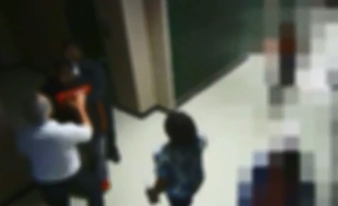 Video shows Conway High School incident that led to arrest of coach, student (Photo from video via The Sun News)