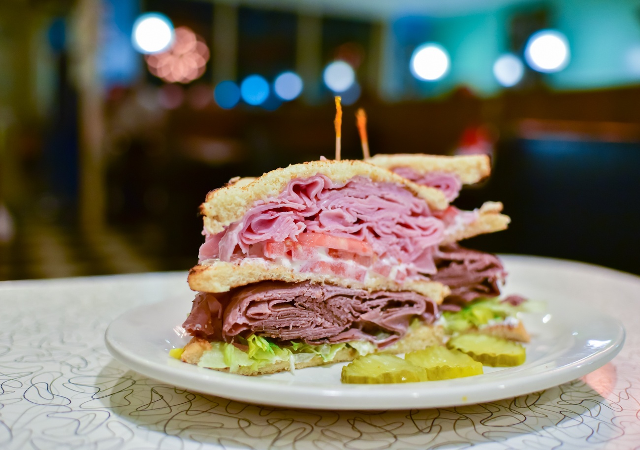 Ham & Roast Beef Double Decker / Image: Phil Armstrong, Cincinnati Refined // Published: 1.16.17