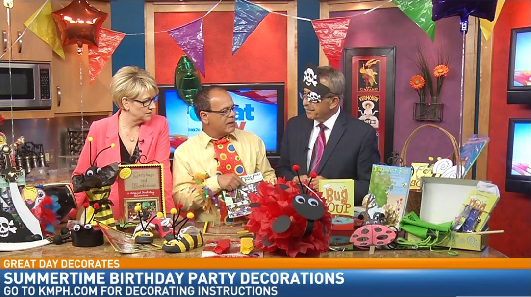 Birthday Party Decorating with Doug Alves: Pirates & Bugs