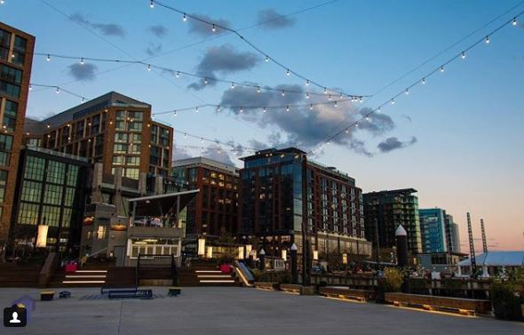 Post: Loving this new spot in DC! Great views, restaurants, and many more at the Wharf! Definitely must visit for those who have not had a chance!{&amp;nbsp;} (Image: via IG user @aglimpseproductions/instagram.com/aglimpseproductions/){&amp;nbsp;}<p></p>