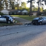 Accident slows down traffic on Zebulon Road