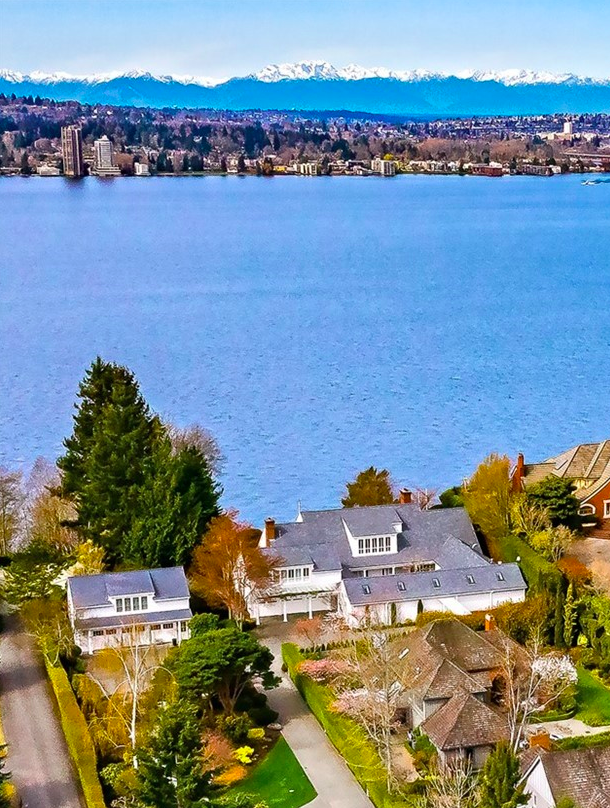 "Never before available, this beautiful street-to-water home is for sale in Medina, WA by{&nbsp;}<a  href=""https://sinclairstoryline.com/Never%20before%20available,%20this%20beautiful%20street-to-water%20home%20is%20for%20sale%20in%20Medina,%20Washington.%20The%20estate%20has%20two%20lots%20totaling%20over%20two%20acres%20with%20180-degree%20views%20of%20the%20lake,%20mountains%20and%20Seattle%20skyline.%20The%20$28.5M%20home%20is%20over%209,500%20square%20feet%20and%20has%20a%20spacious%20and%20classically%20styled%20interiors.%20The%20possibilities%20are%20endless%20with%20entertaining%20spaces,%20an%20indoor%20pool,%20two%20guest%20apartments,%20172%20feet%20of%20private%20waterfront%20and%20more.%20(Image:%20Michael%20Walmsley)."" target=""_blank"" title=""Never before available, this beautiful street-to-water home is for sale in Medina, Washington. The estate has two lots totaling over two acres with 180-degree views of the lake, mountains and Seattle skyline. The $28.5M home is over 9,500 square feet and has a spacious and classically styled interiors. The possibilities are endless with entertaining spaces, an indoor pool, two guest apartments, 172 feet of private waterfront and more. (Image: Michael Walmsley)."">Team Foster of Compass</a>{&nbsp;}. The estate has two lots totaling over two acres with 180-degree views of the lake, mountains and Seattle skyline. The $28.5M home is over 9,500 square feet and has a spacious and classically styled interiors. The possibilities are endless with entertaining spaces, an indoor pool, two guest apartments, 172 feet of private waterfront and more. (Image: Michael Walmsley)"