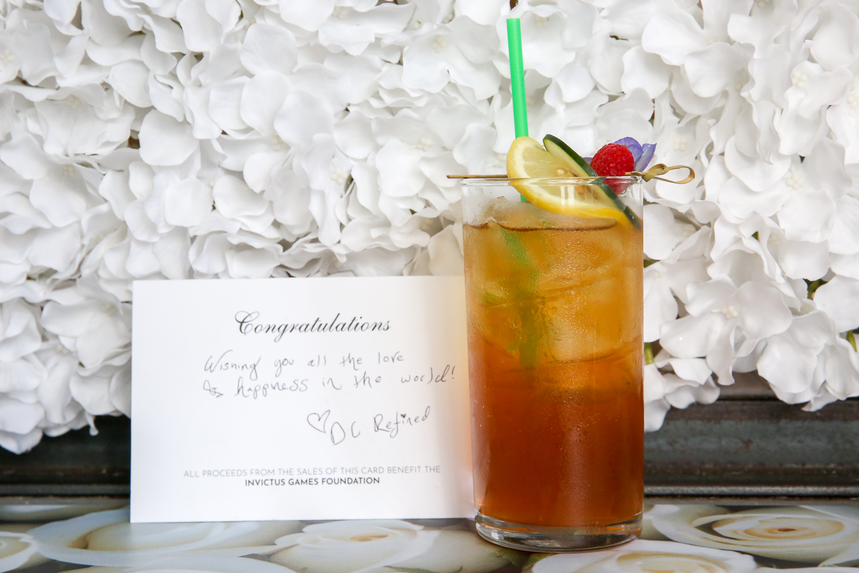 Prince Harry will marry Meghan Markle on May 19, but you can now toast the couple at the Royal Pop-Up Bar from Drink Company. Located at{ }1843 7th Street NW in Shaw, the pop-up bar features wedding-themed drinks, a corgi throne room and plenty of selfie opportunities. The bar will be open until May 20. (Amanda Andrade-Rhoades/DC Refined)