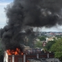 3 firefighters injured fighting massive 2-alarm fire in downtown D.C.