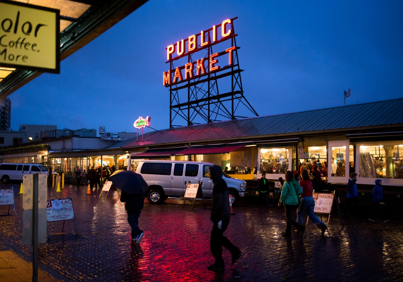 Arcades In Tacoma >> Photos: Foodies swarm Pike Place for the weird & wonderful at Arcade Lights   Seattle Refined