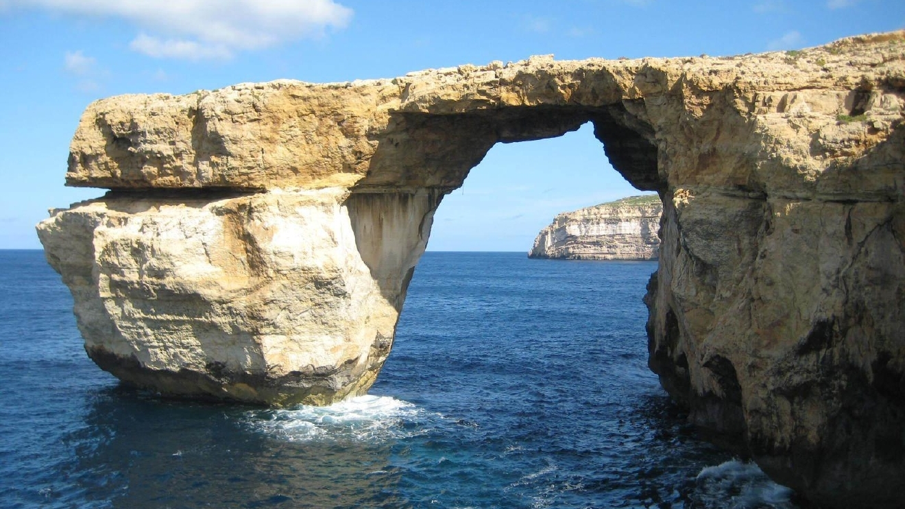 Azure Window Arch Of Game Of Thrones Fame Collapsed